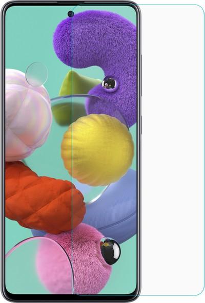 Microsonic Samsung Galaxy A51 Temperli Cam Ekran Koruyucu