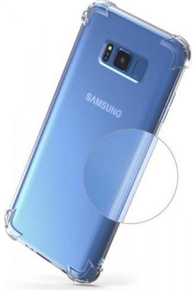 Kılıfreyonum Samsung Galaxy S8 Ultra İnce Şeffaf Airbag Anti Şok Silikon Kılıf Anti Shock Kılıf