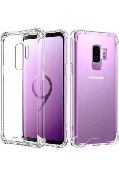 Kılıfreyonum Samsung Galaxy S9 PLUS Ultra İnce Şeffaf Airbag Anti Şok Silikon Kılıf Anti Shock Kılıf