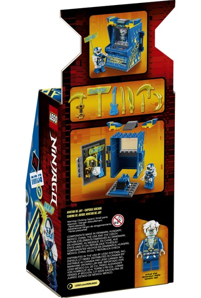 LEGO® NINJAGO® 71715 Jay Avatar - Atari Kapsülü
