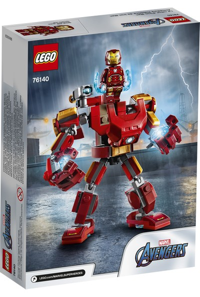 LEGO® Marvel 76140 Avengers Iron Man Robotu