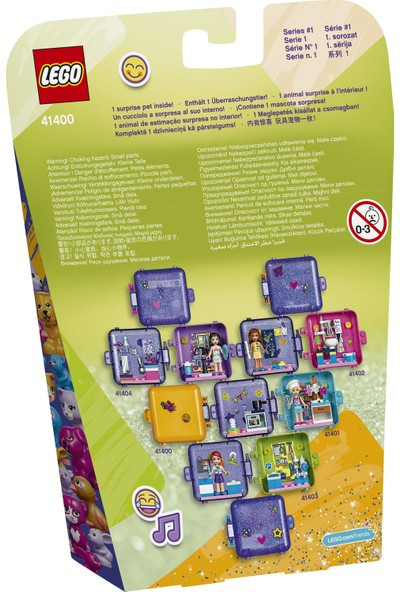 LEGO® Friends 41400 Andrea'nın Oyun Küpü