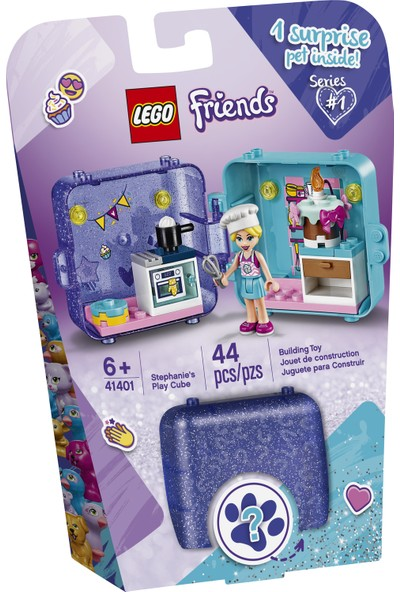 LEGO® Friends 41401 Stephanie'nin Oyun Küpü