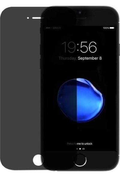 Melefoni Apple iPhone 6/6S Plus Privacy Gizli Siyah Ekran Koruyucu Cam