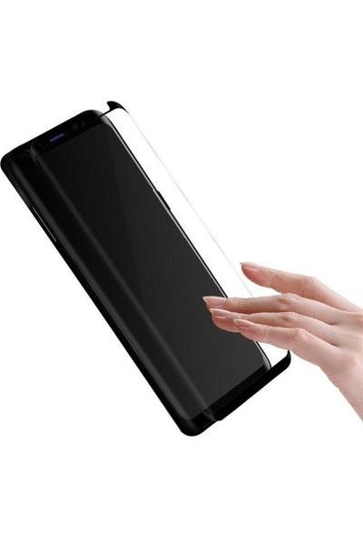Melefoni Samsung Galaxy S9 Plus Kavisli Ekran Koruyucu Siyah