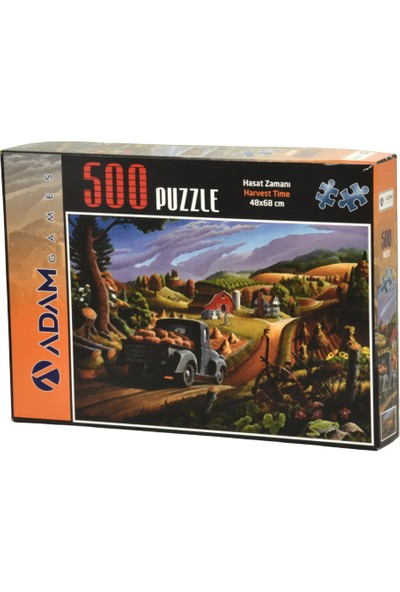 Adam Games Hasat Zamanı 500 Parça Puzzle 68 x 48 cm