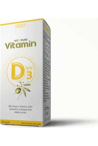Vitapure D3 Sprey 600IU 20 ml