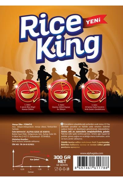 Alpha RiceKing Micronized Rice Premium Series VOL l 'Pre-workout Formula'