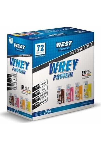 West Whey Protein Tozu 2592 gr 72 Servis