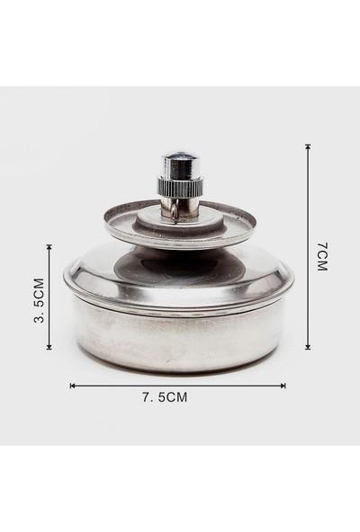 ECE İspirto Ocağı Paslanmaz Çelik Özel Emniyetli Tasarım 150 ml