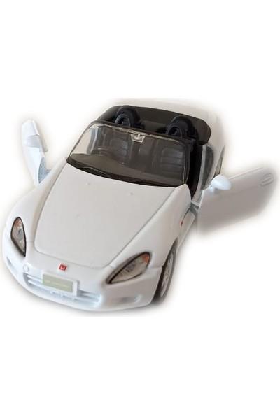Welly Honda S 2000 Beyaz Model Çek Bırak Oyuncak Araba