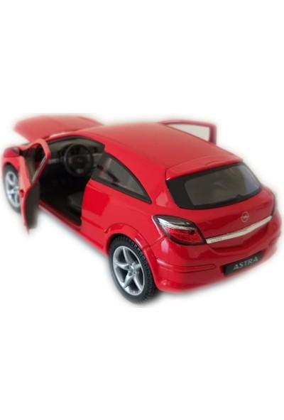 Welly 2005 Opel Astra Gtc 1/24 Ölçek Kırmızı Model Oyuncak Araba