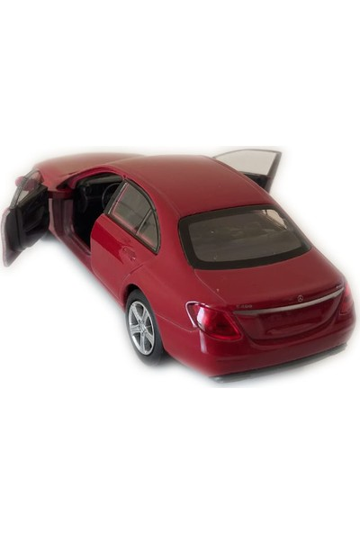 Welly Mercedes - Benz E-Class Kırmızı Model Çek Bırak Oyuncak Araba