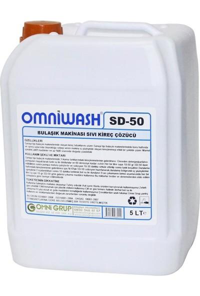Omniwash Bulaşık Makinesi Sıvı Kireç Çözücü 5 l Sd-50