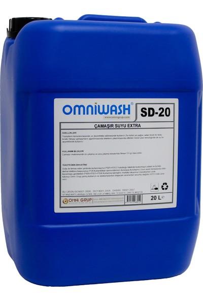 Omniwash Çamaşır Suyu Extra 20 l Sd-20