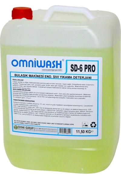Omniwash Endüstriyel Bulaşık Makinesi Deterjanı 11,60 kg Sd-6