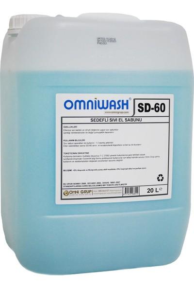 Omniwash Sıvı El Sabunu Sedefli 20 l Sd-60