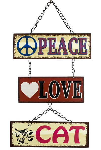 Carma Concept Peace Love Cat Pano