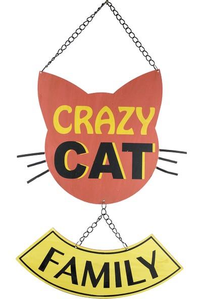 Carma Concept Lazer Crazy Cat Famıly Pano
