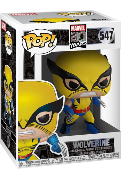 Funko POP Figür - Marvel 80th First Appearance, Wolverine LE