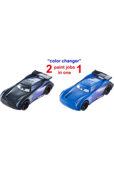 Disney Cars Renk Değiştiren Araçlar - Jackson Storm GDK07