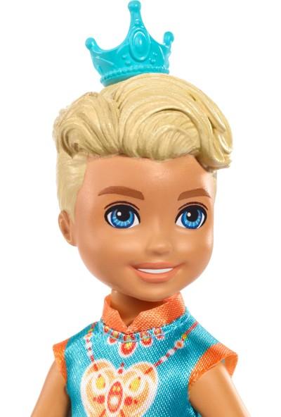 Barbie Dreamtopia Chelsea Prenses Bebekler - Sarı Saçlı Erkek Bebek GJJ96