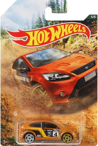 Hot Wheels Temalı Arabalar Özel Seri 09 Ford Focus rs FYY02