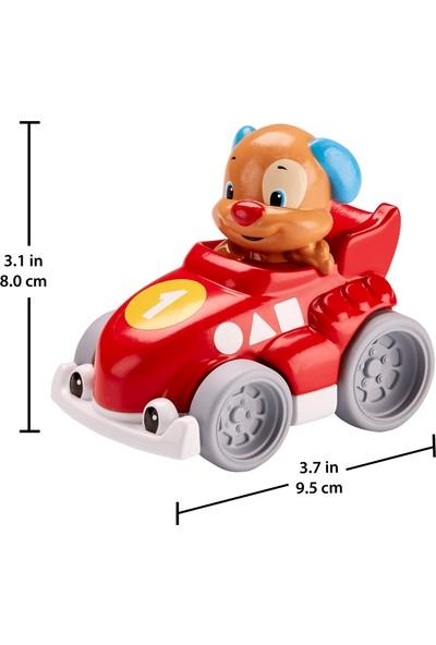 Fisher Price Eğlen & Öğren™ Hızlı Arabalar - Köpekçik, Kırmızı Oyuncak Araba GFJ17