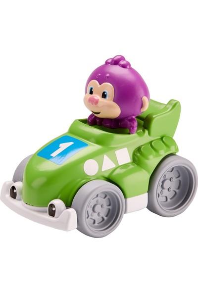 Fisher Price Eğlen & Öğren™ Hızlı Arabalar - Sevimli Maymun, Yeşil Oyuncak Araba FGJ19