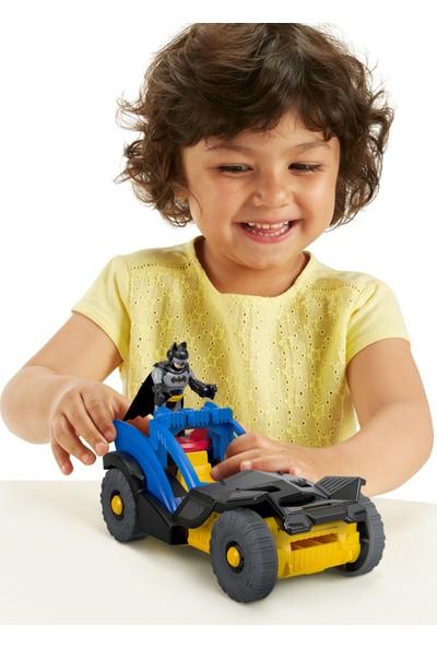 Fisher-Price® Imaginext DC Super Friends™ Özel Araçlar - Batman & Rally Car - Süper Kahraman, Arabalı Oyuncak Figür - GKJ25