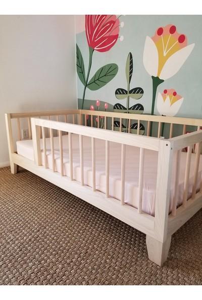 Ürün Şehri Montessori Ahşap Çocuk Yatak