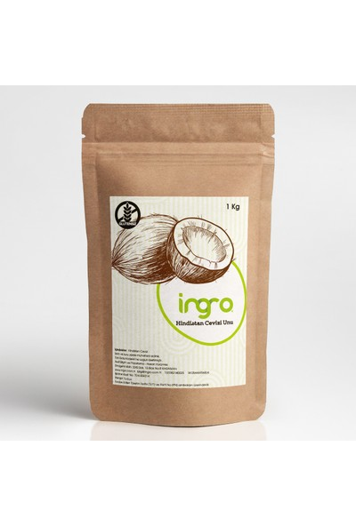 Ingro Glutensiz Hindistan Cevizi Unu 1000 g
