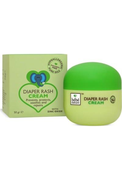 Bebe Nature Natural Diaper Rash Cream Pişik Kremi 50 gr