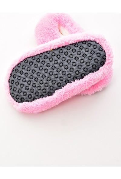 Pemilo Kız Çocuk Peluş Ev Ayakkabısı