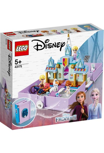 LEGO® ǀ Disney 43175 Anna ve Elsa'nın Hikâye Kitabı Maceraları
