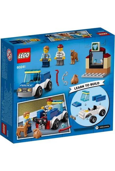 LEGO® City 60241 Polis Köpeği Birimi
