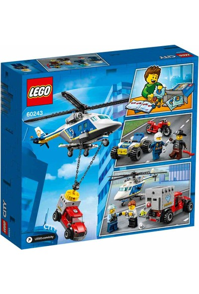 LEGO® City 60243 Polis Helikopteri Takibi