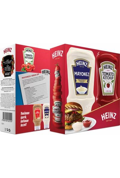 Heinz Büyük Set Ketçap 460 GR + Mayonez 395 GR