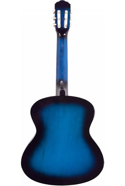 Madrıd MCG-120 Bls-Mavi Siyah 39 Klasik Gitar Tam Boy