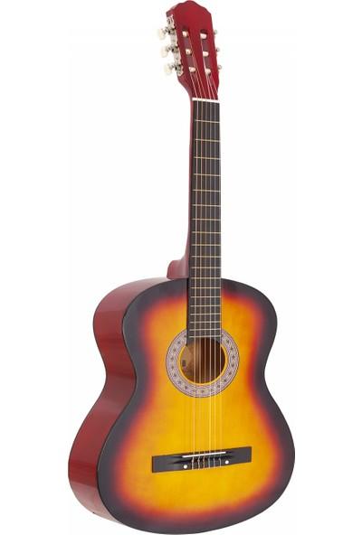 Madrıd MCG-120-SB Sunburst-Günbatımı 39 Klasik Gitar Tam Boy