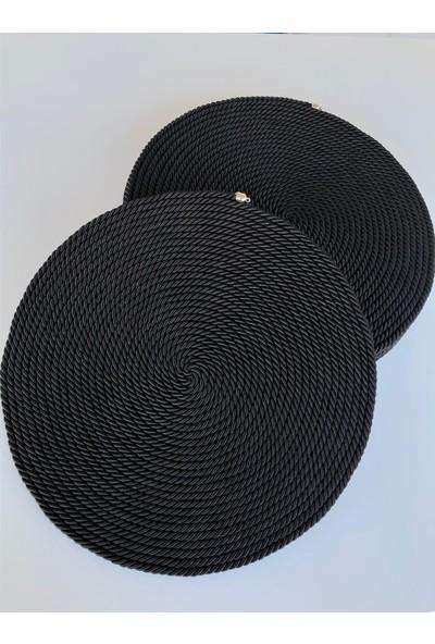 Dekoratif Siyah Amerikan Servis Supla