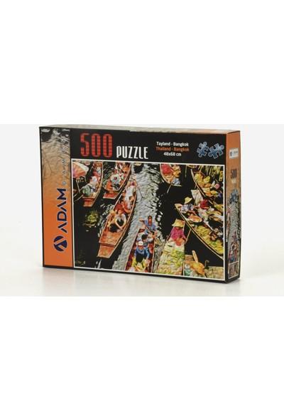 Adam Games Bangkok 500 Parça Puzzle 68 x 48 cm