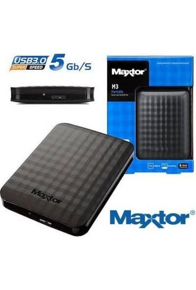 """Maxtor M3 1.5TB 2.5"""" USB 3.0 Taşınabilir Disk STSHX-M150TCBM"""