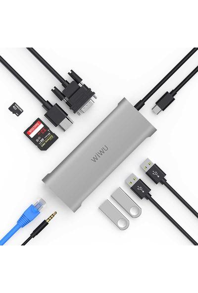 Wiwu Alpha 11IN1 Type-C Hub Çoğaltıcı A11