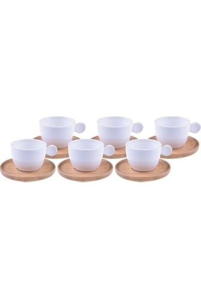 Bambum Pacho 6 Kişilik Kahve Fincan Takımı