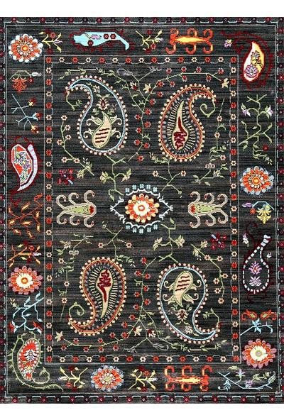 Asyün Karabağ 1853 Siyah 160 x 230 cm Halı