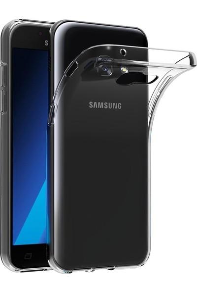 Quse Samsung Galaxy J7 Prime Premium Şeffaf Silikon Kılıf