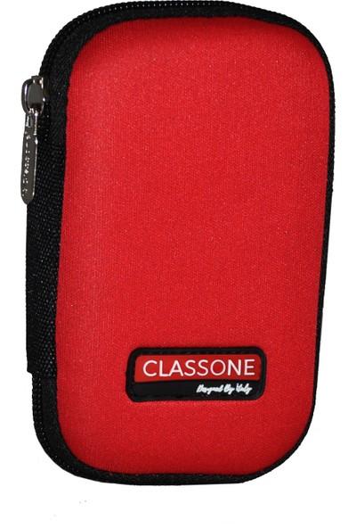 Classone HD2001 2,5 inçHardisk Taşıma Çantası - Kırmızı