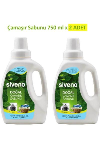 Siveno Doğal 2'li Çamaşır Sabunu Seti 750 ml