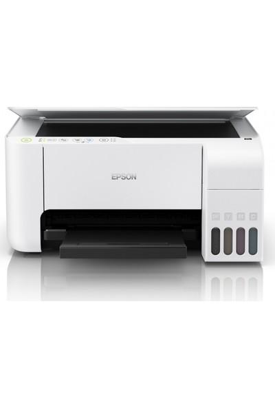Epson L3156 Yazıcı/Tarayıcı/Fotokopi Renkli Mürekkep Tanklı Yazıcı